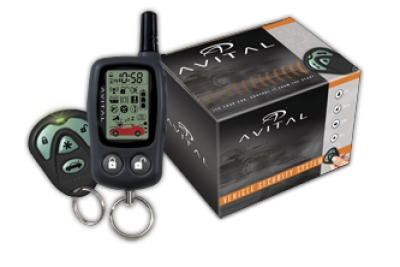 Avital® 5303 2-Way LCD Remote Start with Security